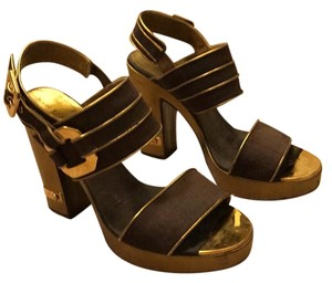Marc by Marc Jacobs brown, bronze gold Platforms