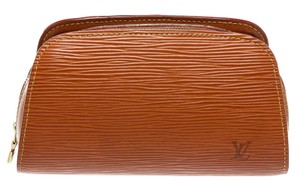 Louis Vuitton Louis Vuitton Cannelle Tan Epi Leather Cosmetic Pouch