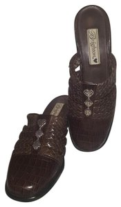 Brighton Wedge Brown Mules
