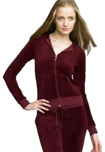 Juicy Couture Velour Classic Hoodie Zipup Long Sleeve Iconic