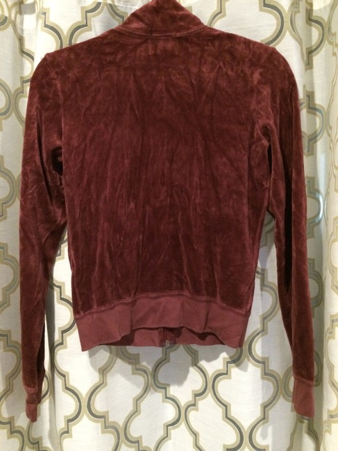 Juicy Couture Velour Classic Hoodie Zipup Long Sleeve Iconic Image 3