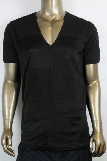 Preload https://img-static.tradesy.com/item/20306889/bottega-veneta-black-men-s-v-neck-tee-shirt-it-54us-44-299840-shirt-0-0-540-540.jpg