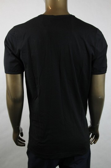 Bottega Veneta Black Men's V-neck Tee-shirt It 54/Us 44 299840 Shirt Image 3