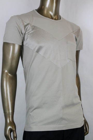Bottega Veneta Beige Men's Pocket Tee-shirt It 48/Us 38 296293 1502 Shirt Image 1