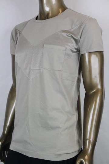 Bottega Veneta Beige Men's Pocket Tee-shirt It 48/Us 38 296293 1502 Shirt Image 2