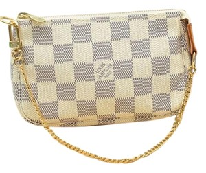 Louis Vuitton Damier Azur Pochette Shoulder Bag