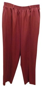 Koret Straight Pants Burgundy