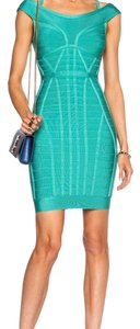 Hervé Leger Bandage Bodycon Off Dress