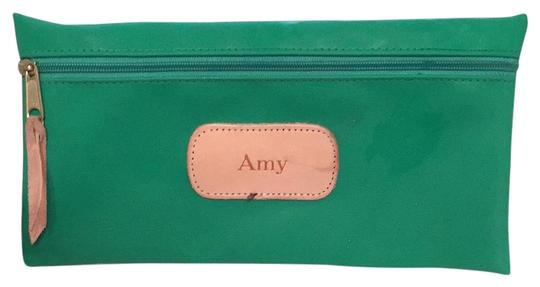 Preload https://img-static.tradesy.com/item/20307062/large-pouch-kelly-green-canvas-clutch-0-1-540-540.jpg
