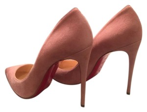 Christian Louboutin Pigalle Follies Suede Ronsard pink Pumps