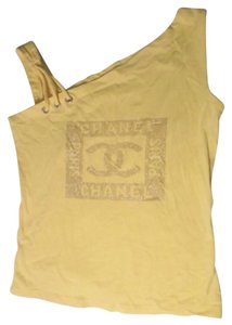 Chanel Too Tunic Top Yellow