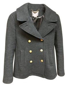 J.Crew Majesty Pea Out Of Stock Pea Coat
