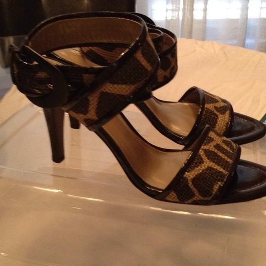 Via Spiga gold and brown Sandals Image 2