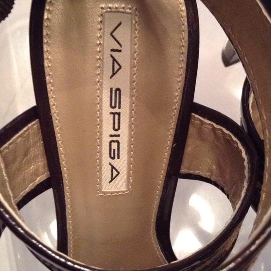 Via Spiga gold and brown Sandals Image 3