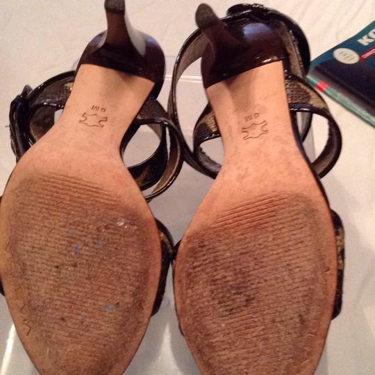 Via Spiga gold and brown Sandals Image 5