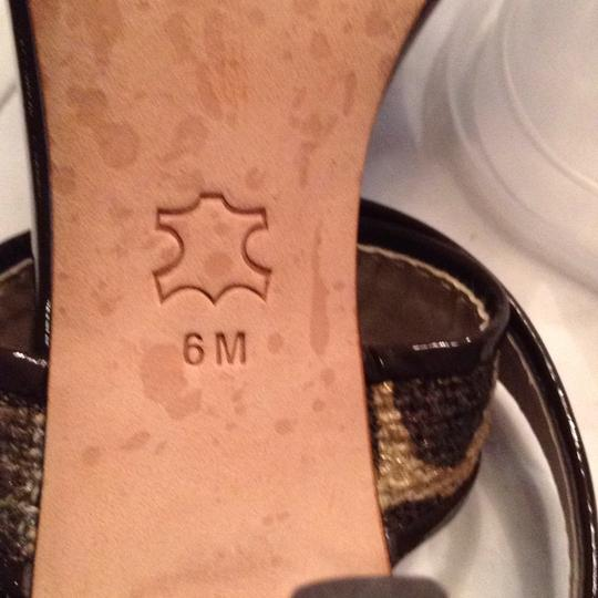 Via Spiga gold and brown Sandals Image 6