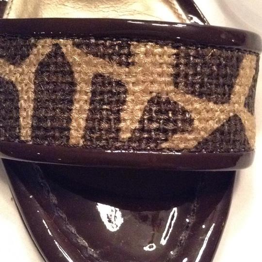 Via Spiga gold and brown Sandals Image 7