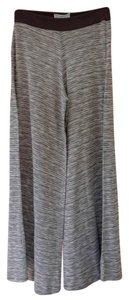 Market Wide Leg Pants Dark Gray
