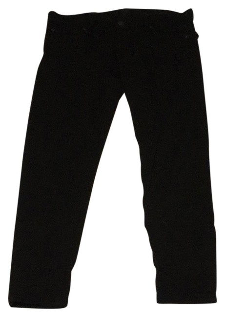 Item - Black Crop Gwenevere Jeggings Size 25 (2, XS)