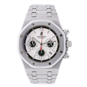 Audemars Piguet Audemars Piguet Royal Oak 39mm Steel Chronograph Watch Panda Dial