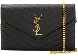 Saint Laurent Ysl Nwt Woc Wallet Cross Body Bag