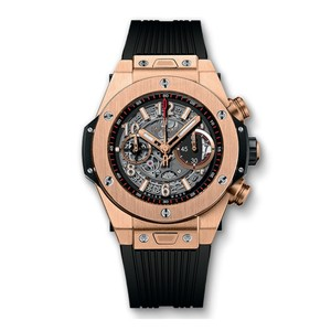 Hublot Hublot Big Bang Unico King Gold Chronograph Watch Skeleton Dial