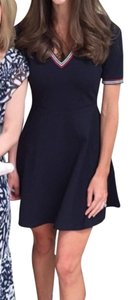 H&M short dress Navy Fit And Flare New Years Christmas on Tradesy