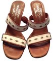 Donald J. Pliner off white, and tan Sandals Image 0