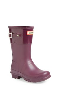 Hunter Bright Plum Boots