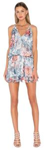 Elizabeth and James short dress Floral Blue Flowy Strappy Sexy on Tradesy