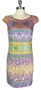 Roberto Cavalli short dress Purple Made In Italy Sheath Cavalli Summer on Tradesy