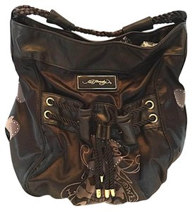 Ed Hardy Tote Satchel Shoulder Bag