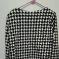 Gold Flava #cropped Jacket Casual Holiday Lined Black and White Blazer Image 1