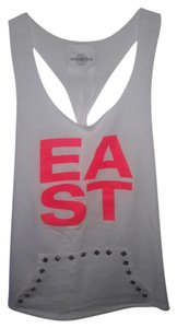 SoulCycle EAST 83rd Tank with Kangaroo Studded Pocket Silver Tote Included