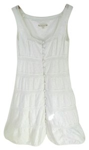 Nanette Lepore short dress White Cotton 4 on Tradesy
