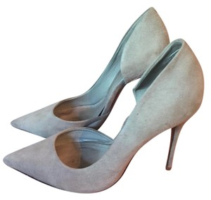 SCHUTZ Grey Suede Pumps