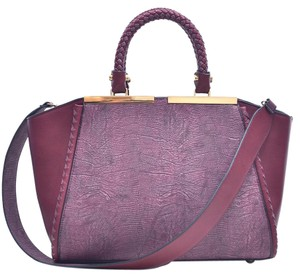 Other Vintage Classic Big Handbag The Treasured Hippie Professional Satchel in Wine