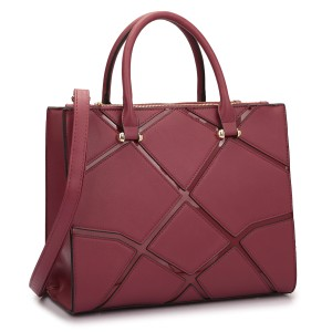 Other Vintage Classic Big Handbag Professional The Treasured Hippie Satchel in Burgundy