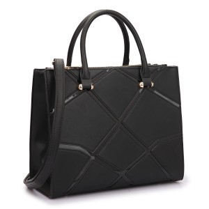 Other Vintage Classic Big Handbag Professional The Treasured Hippie Satchel in Black