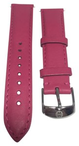 Michele MICHELE LEATHER WATCH STRAP 18MM