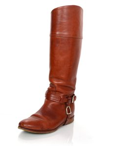 Ralph Lauren Leather Riding cognac Boots