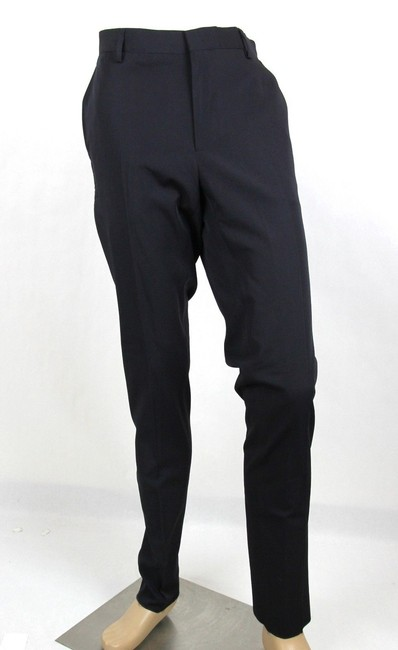 Item - Navy Men's Wool Dress Pants It 52/Us 36 308276 4030 Groomsman Gift