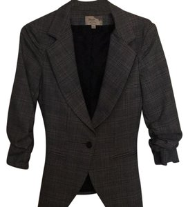 Elizabeth and James black and grey tweed Blazer