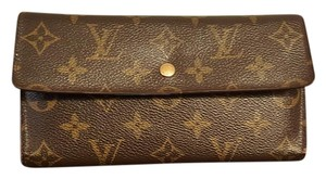 Louis Vuitton Monogram Long Trifold Wallet