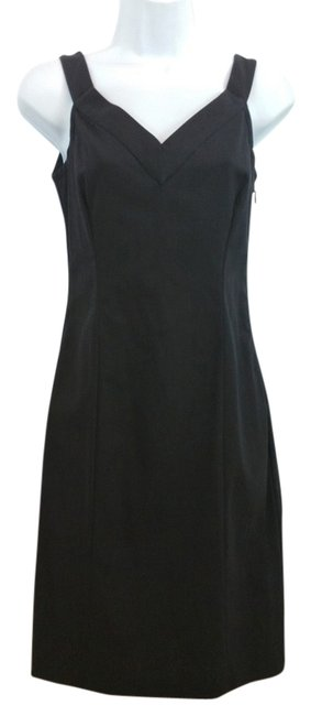 Preload https://img-static.tradesy.com/item/20308314/narciso-rodriguez-made-in-italy-black-cotton-blend-sheath-above-knee-night-out-dress-size-4-s-0-1-650-650.jpg