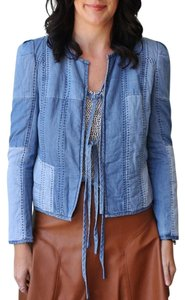 Rebecca Taylor Chambray Blue Jacket