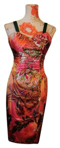 David Meister Colorful Date Night Dress