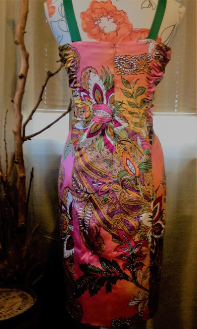 David Meister Colorful Date Night Dress Image 6