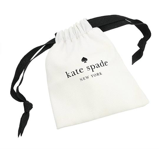 Kate Spade NWT KATE SPADE TUXEDO PEARLS STUDS EARRINGS BLACK CREAM W BAG $125 Image 5