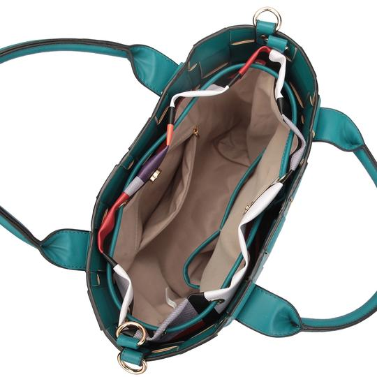 Other Unique Big Handbag Purse The Treasured Hippie Classic Tote in Turquoise